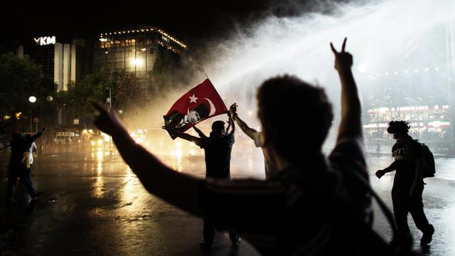 Manifestation le 8 juin 2013 à Ankara [Marco Longari / AFP]