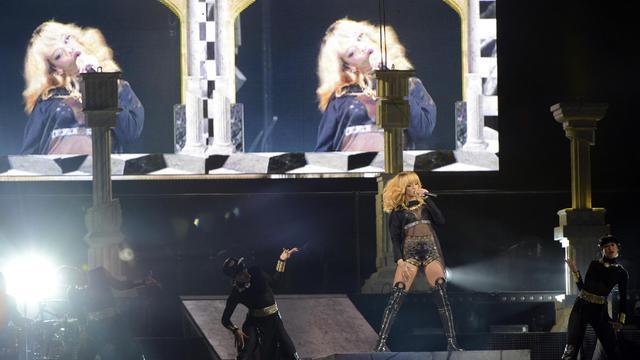 Concert de Rihanna au Stade de France le 8 juin 2013, à Saint Denis [Bertrand Guay / AFP]