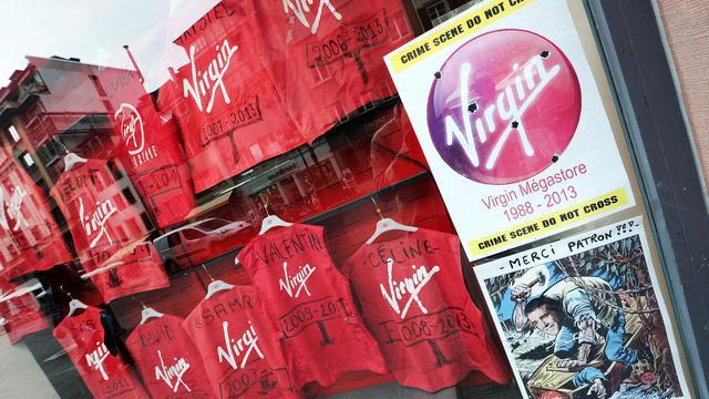 Blouses des salariés de Virgin [Frederick Florin / AFP/Archives]