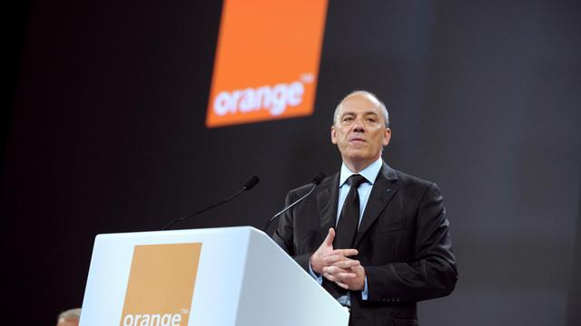 Le patron d'Orange, Stéphane Richard, le 28 mai 2013 à Paris [Eric Piermont / AFP/Archives]