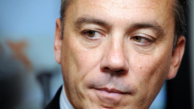 Photo du 8 octobre 2009 à Bordeaux de Stéphane Richard lors d'une conférence de presse [Jean-Pierre Muller / AFP/Archives]