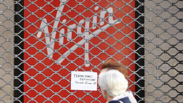Un magasin Virgin à Nice, le 12 juin 2013 [Jean-Christophe Magnenet / AFP]