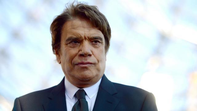 L'homme d'affaires Bernard Tapie, pris en photo le 26 mai 2013 à Marseille