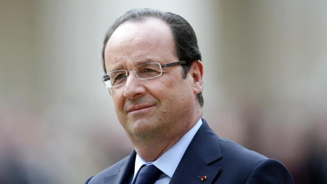 François Hollande, le 14 juin 2013, à paris [Charles Platiau / AFP]