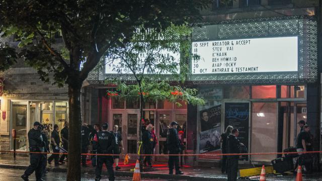 L'auteur présumé de la fusillade qui a fait un mort et un blessé grave près de la salle où le Parti Québécois célébrait sa victoire électorale, est Richard Henry Bain, un anglophone de 62 ans vivant au Québec[AFP]