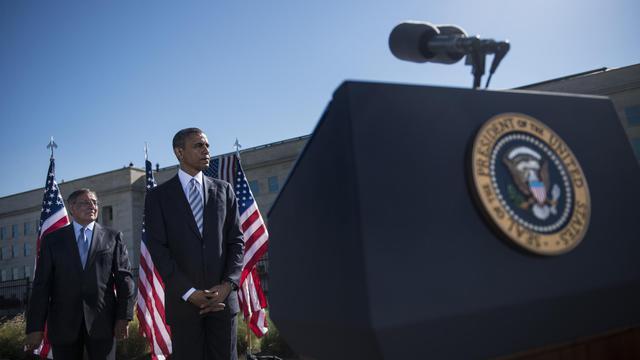 Le président des Etats-Unis Barack Obama a salué mardi une Amérique plus forte et plus unie, alors que le pays célébrait sobrement le 11e anniversaire des attentats du 11-Septembre, témoignant d'un certain apaisement au fil des ans. [AFP]