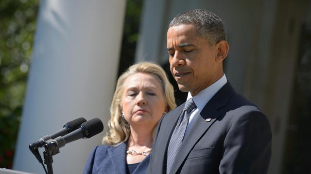 La flambée de violence antiaméricaine dans le monde musulman qui a coûté la vie à l'ambassadeur des Etats-Unis en Libye ajoute une nouvelle inconnue à l'équation de la présidentielle du 6 novembre, sur un sujet périlleux pour Barack Obama comme pour Mitt Romney. [AFP]