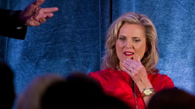 L'épouse du candidat républicain à la Maison Blanche, Ann Romney, le 18 septembre 2012, à Dallas, au Texas [Nicholas Kamm / AFP/Archives]