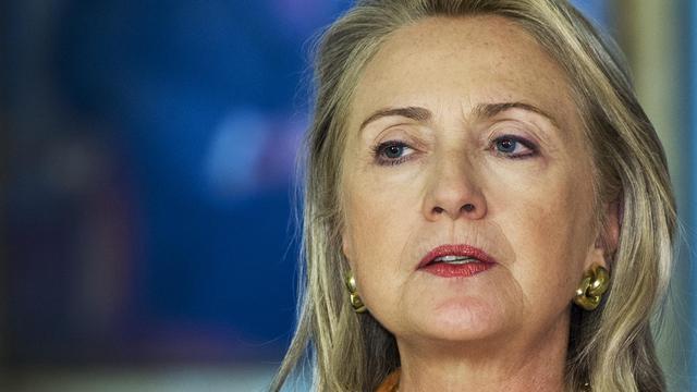 La secrétaire d'Etat américaine Hillary Clinton, le 20 septembre 2012 à Washington [Paul J. Richards / AFP]