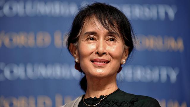 L'opposante birmane Aung San Suu Kyi, le 22 septembre 2012 à New York [Stan Honda / AFP]