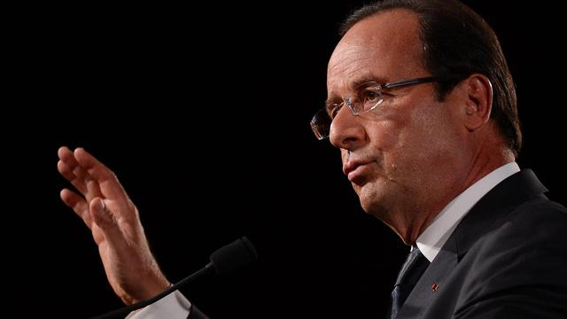 François Hollande le 25 septembre 2012 [Emmanuel Dunand / AFP/Archives]
