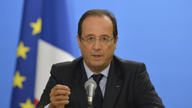 Le président français François Hollande le 26 septembre 2012 à New York [Eric Feferberg / AFP]