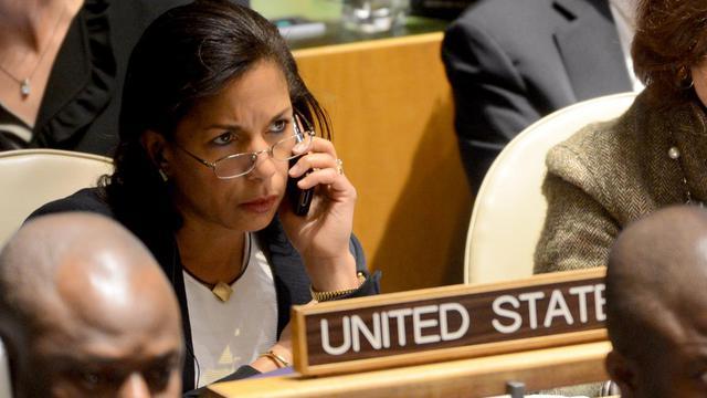L'ambassadrice américaine aux Nations Unies Susan Rice au siège de l'ONU à New York le 29 novembre 2012 [Henny Ray Abrams / AFP/Archives]
