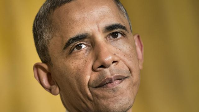 Le président américain Barack Obama, le 15 mai 2013 à Washington [Brendan Smialowski / AFP]