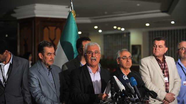 George Sabra le 30 mai 2013 à Istanbul [Ozan Kose / AFP]