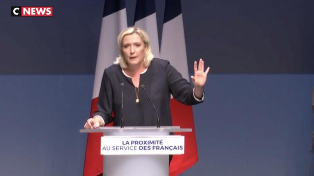 Marine Le Pen vise l'Élysée