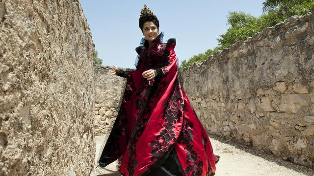 "Salma Hayek dans le nouveau film de Matteo Garrone ""Tale of Tales""."
