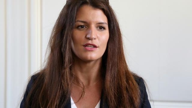 Marlène Schiappa, secrétaire d'Etat à l'égalité femmes-hommes, le 16 février 2018 à Versailles [Ludovic MARIN / AFP/Archives]
