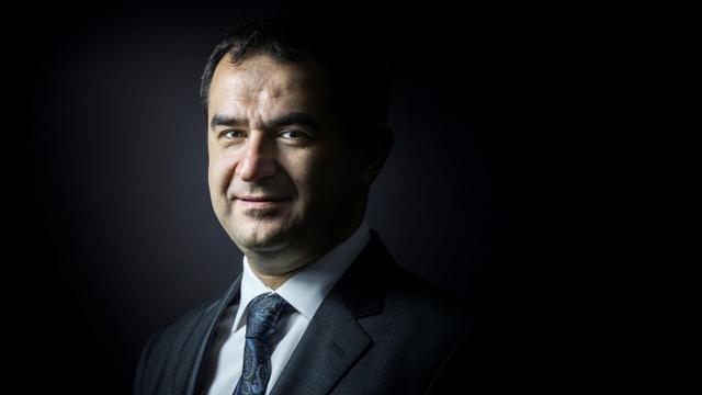Ahmet Ogras, alors vice-président du Conseil français du culte musulman (CFCM) le 8 janvier 2016 à Paris [JOEL SAGET / AFP/Archives]