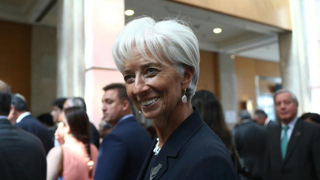 La directrice générale du Fonds monétaire international Christine Lagarde à Ankara le 5 septembre 2015 [ADEM ALTAN / AFP]
