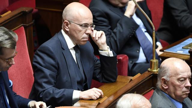 Eric Ciotti à l'Assemblée nationale, le 10 avril 2018 [BERTRAND GUAY / AFP]
