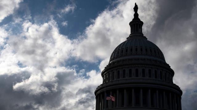 """Le Congrès et la Maison Blanche n'ont pas trouvé de compromis budgétaire à temps pour éviter un """"shutdown"""" [SAUL LOEB / AFP/Archives]"""