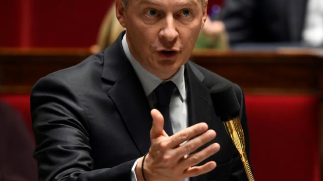 Le ministre de l'Economie, Bruno Le Maire lors d'une audition à l'Assemblée nationale le 4 octobre 2017 [Eric FEFERBERG / AFP]
