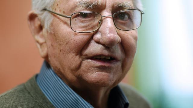 Jean Mercier le 13 janvier 2015 à Saint-Etienne [Philippe Desmazes / AFP/Archives]