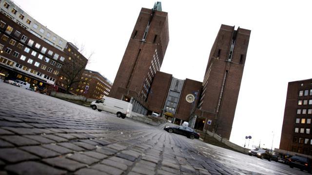 Photo prise le 6 décembre 2007 de la mairie d'Oslo [Lien, Kyrre / SCANPIX NORWAY/AFP/Archives]