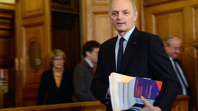 Le premier président de la Cour des comptes Didier Migaud le 12 février 2013 à Paris [BERTRAND GUAY / AFP/Archives]