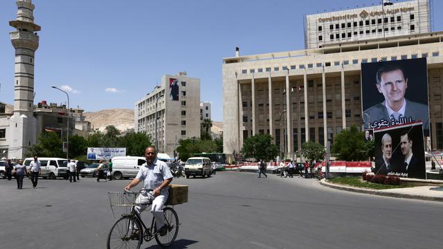 La ville de Damas le 27 mai 2014 [Louai Beshara / AFP/Archives]
