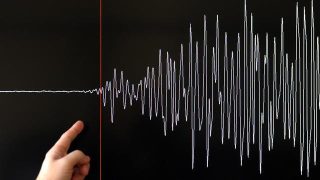 Graphe d'un séisme [Frederick Florin / AFP/Archives]