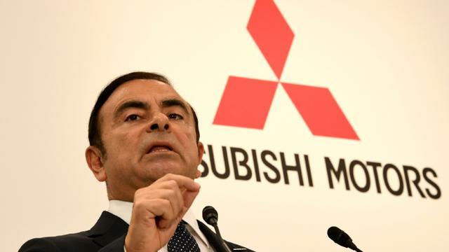 Le PDG de Renault Carlos Ghosn le 20 octobre 2016 lors d'une conférence de presse à Tokyo, au Japon [TOSHIFUMI KITAMURA / AFP/Archives]