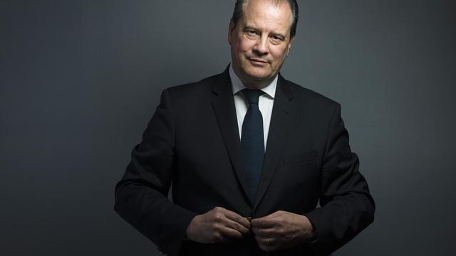 Le premier secrétaire du PS, Jean-Christophe Cambadelis[Joel Saget / AFP/Archives]