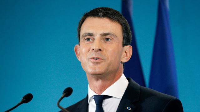 Le Premier ministre français Manuel Valls à Paris, le 4 novembre 2015 [MATTHIEU ALEXANDRE / AFP]