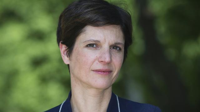Sandrine Rousseau, chef de file des écologistes pour les élections régionales en Nord-Pas-de-Calais-Picardie le 13 juin 2015 à Paris [Joel Saget / AFP/Archives]