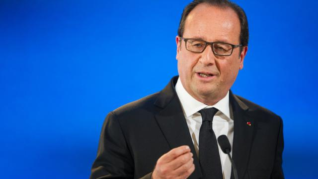 François Hollande le 14 septembre 2015 à Vesoul [SEBASTIEN BOZON / AFP/Archives]