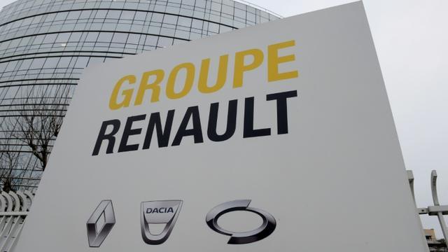 """Les avocats de Renault dénoncent """"les dérapages"""" de Nissan [ERIC PIERMONT / AFP/Archives]"""