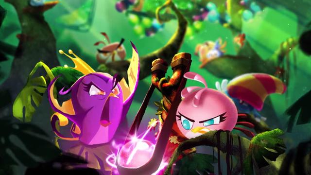 Rovio continue d'étendre l'univers de ses Angry Birds, véritables poules aux oeufs d'or du jeu vidéo.