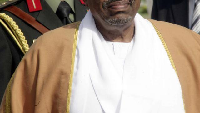 Le président soudanais Omar el-Béchir à Khartoum, le 27 juin 2014 [Ebrahim Hamid / AFP]