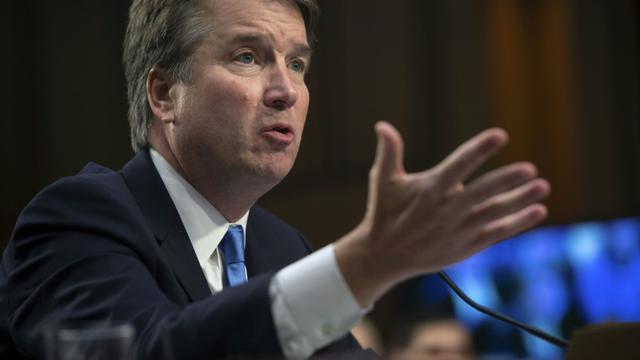 Le juge Brett Kavanaugh le 5 septembre 2018 à Washington [SAUL LOEB / AFP/Archives]