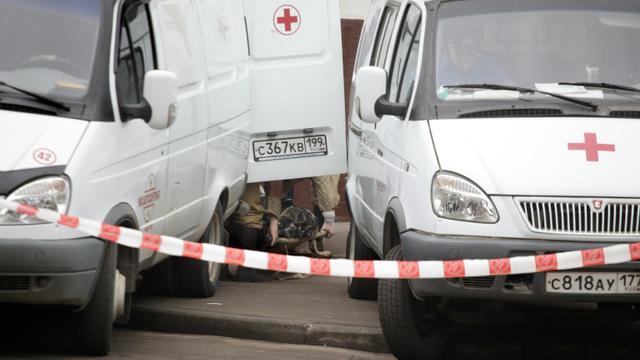 Vingt-et-une personnes ont péri dans la nuit de samedi à dimanche dans la région de Voronej, dans le sud-ouest de la Russie, dans l'incendie du bâtiment en bois d'un hôpital neuro-psychiatrique détruit par le feu [OXANA ONIPKO / AFP/Archives]
