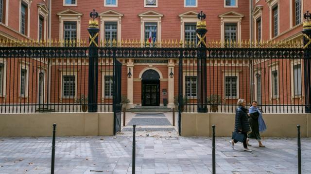 Le tribunal de Toulouse, le 21 octobre 2019, où est jugée Sophie Masala. [ERIC CABANIS / AFP]