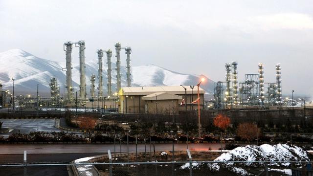 La centrale d'Arak où l'Iran avait un projet de construction d'un réacteur à eau lourde. Photo d'archives du 15 janvier 2011 [Hamid FOROUTAN / ISNA/AFP/Archives]