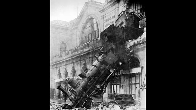 Le jour où une locomotive s'est écrasée rue de Rennes.