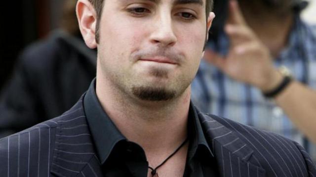 Le chorégraphe australien Wade Robson, le 5 mai 2005 à Santa Maria, en Californie