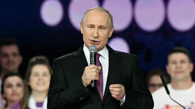 Le président russe Vladimir Poutine, le 6 décembre 2017 à Moscou [Kirill KUDRYAVTSEV / AFP]