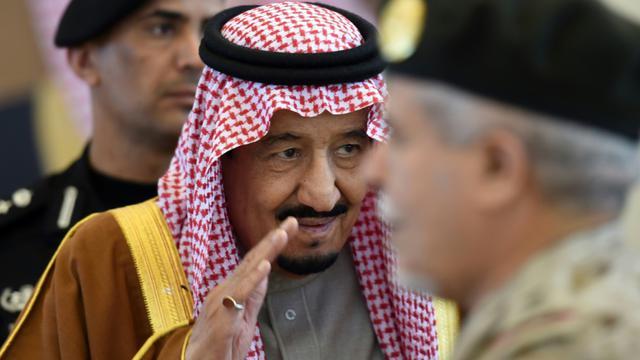 Le roi Salmane d'Arabie saoudite à Ryad le 9 décembre 2015 [FAYEZ NURELDINE / AFP/Archives]
