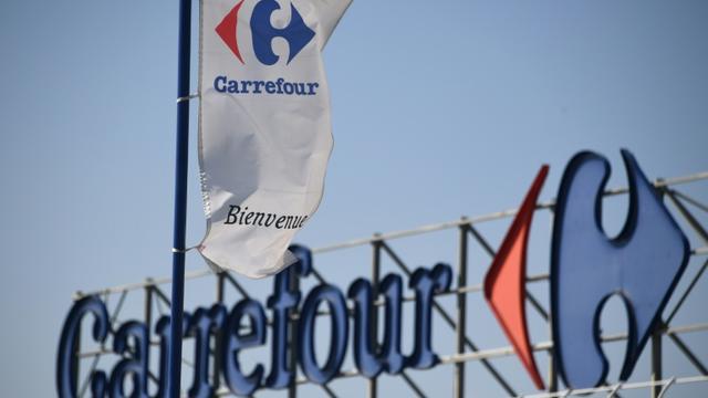 Un supermarché de l'enseigne Carrefour, à Montpellier le  28 mars 2019 [Pascal GUYOT / AFP/Archives]
