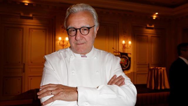 """Alain Ducasse est l'un des parrains du premier """"Taste of Paris""""."""